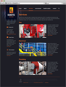 Ignite Services - Services page