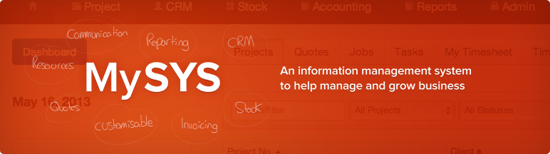MySys Information Management System by Alltraders