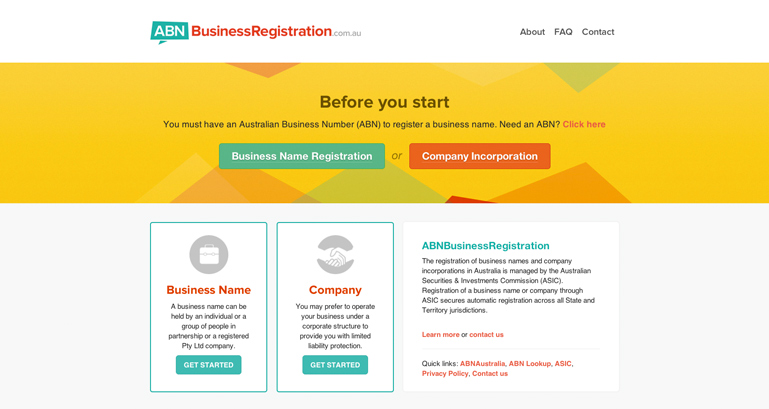 ABN Business Registration
