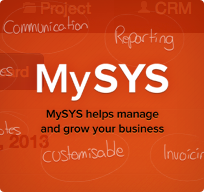 MySys helps manage and grow your business.
